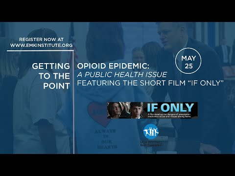 Getting to the Point | The Opioid and Heroin Epidemic: A Public Health Issue