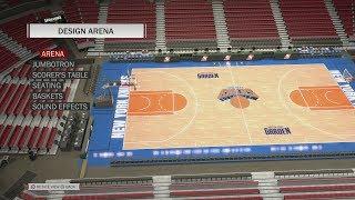 NBA 2K18 Arena Creation: New York Knicks 2003 - 2004 (Madison Square Garden)