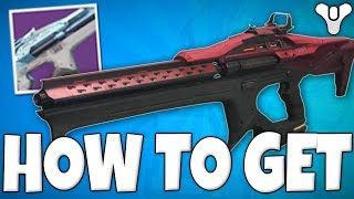 Destiny 2 - How To Get The MAN O WAR Veist Linear Fusion - (1st Linear Fusion In The Game)