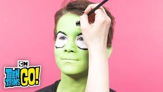 Teen Titans Go! Beast Boy Face Painting   LET'S CREATE