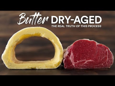 Why you should NEVER Butter Dry Age STEAK | Guga Foods
