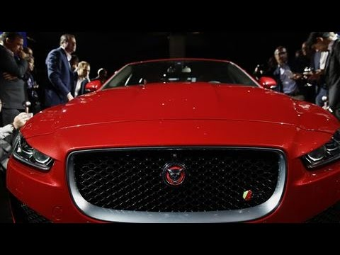 paris auto show jaguar 39 s next move for the xe youtube. Black Bedroom Furniture Sets. Home Design Ideas