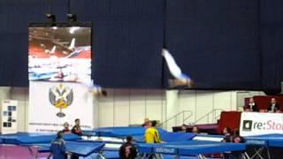 Прыжки на батуте - Yevgen Dioka (trampoline).mp4
