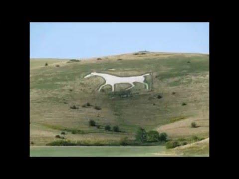 WHITE HORSES in Britain Unique sites in Britain
