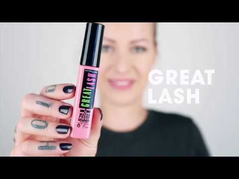Great Lash Waterproof Mascara (Very Black)