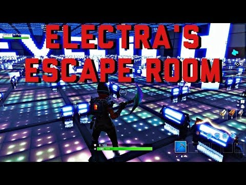 How to Complete Electra's Escape Room Puzzle and Parkour Map