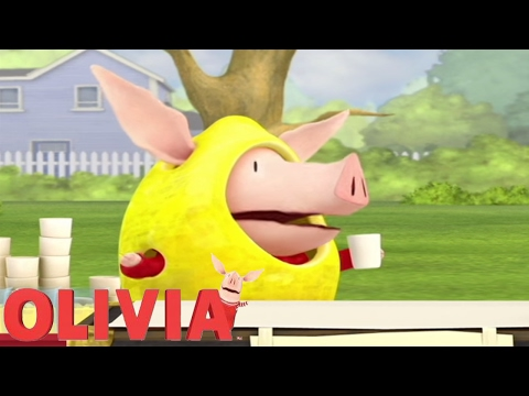 Olivia the Pig | Olivias Lemonade Stand | Olivia Full Episodes
