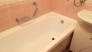 Акриловый вкладыш (вставка) в ванну от компании ВАННА ТУЛА(Установка акрилового вкладыша по технологии
