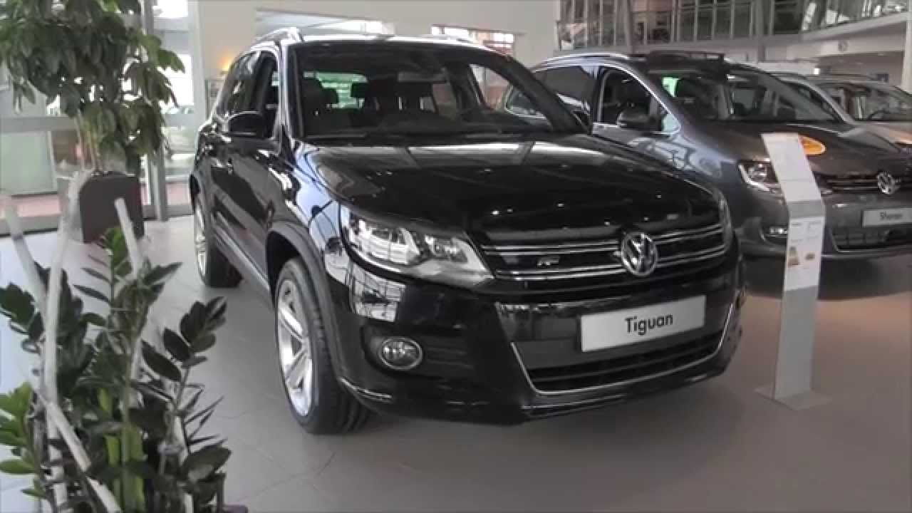 volkswagen tiguan r line 2015 in depth review interior. Black Bedroom Furniture Sets. Home Design Ideas
