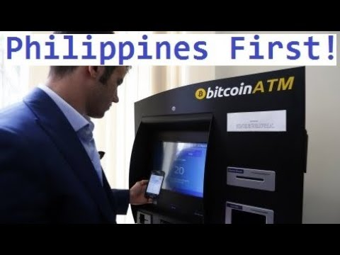 Bitcoin: First ATM in the Philippines