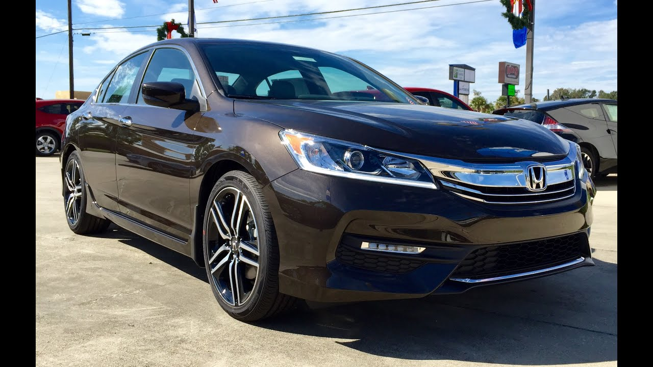 2016 Honda Accord Sport Full Review Start Up Exhaust