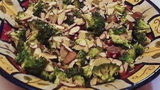 Broccoli And Grape Salad...