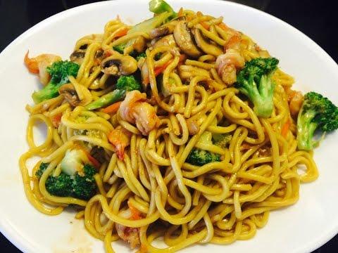 Shrimps & Vegetable Stir Fry Noodle