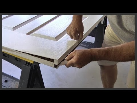 Door Repair With Gorilla Glue Youtube