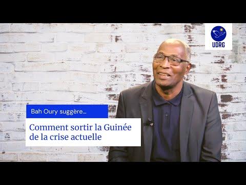 Comment Sortir La Guinée De La Crise Actuelle ?