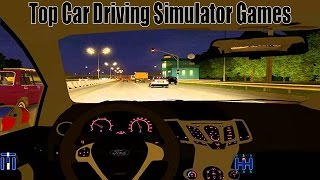 Top Car Driving Simulator Games