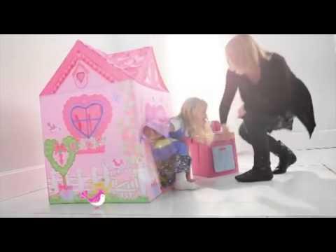 Tenda da gioco casetta casa interni esterni bambina for Gioco arredare casa virtuale