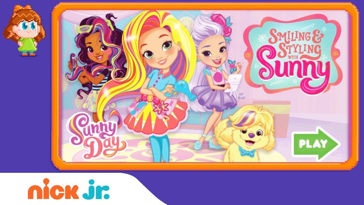 Sunny Day: 'Smiling & Styling W/ Sunny' Game Walkthrough