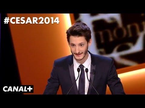 Casting de Pierre Niney pour les César 2014