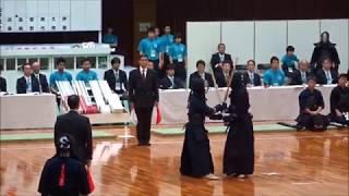 福井国体 2018 剣道 成年男子(東京 対 兵庫)先鋒