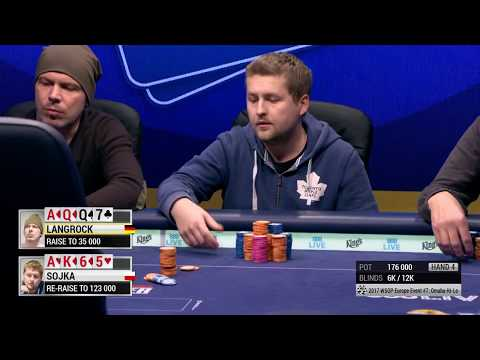 2017 WSOP Europe Event #7: €1,650 Pot-Limit Omaha Hi-Lo 8 or Better