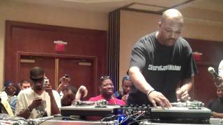 DJ Scratch Going IN @ The Core DJs Retreat XIV In Miami