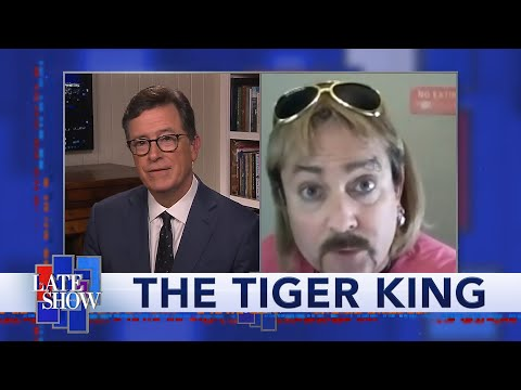 """""""Tiger King"""" Joe Exotic Speaks Out From Jail"""