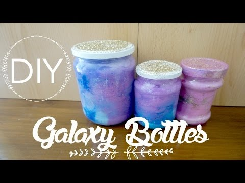diy deco room galaxy in a jar i diy fran ais youtube. Black Bedroom Furniture Sets. Home Design Ideas