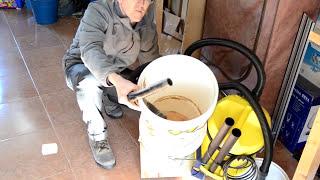 Cheap workshop 'Cyclone' vacuum system
