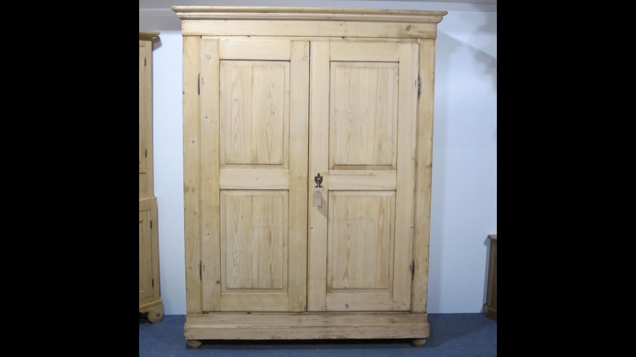 Large French Country Pine Wardrobe   Pinefinders Old Pine Furniture  Warehouse