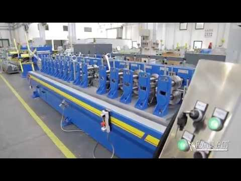 T-Bar production: roll forming machine and systems by Dallan D57