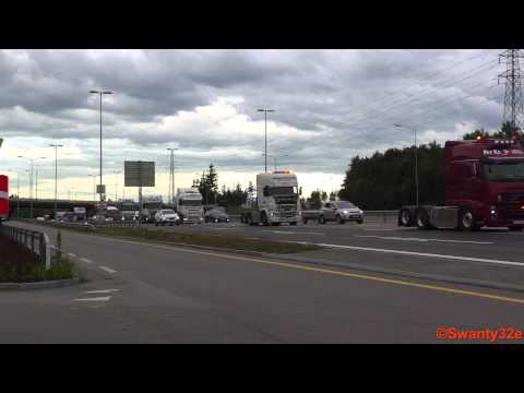 Truck Convoy - Transportmessa 2015 (Highlights)