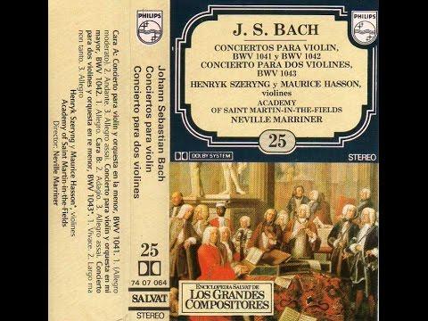 """Los Grandes Compositores"" [The Great Composers], HD/HQ CASSETTE #25: Johann Sebastian Bach"