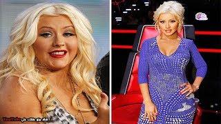 تحولات جسدية مذهلة لمشاهير العالم | لن تصدق انها حدثت بالفعل !