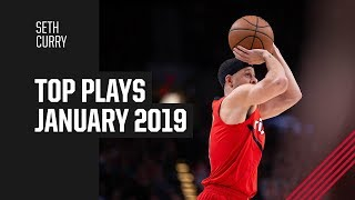 Seth Curry's Top Plays of January 2019