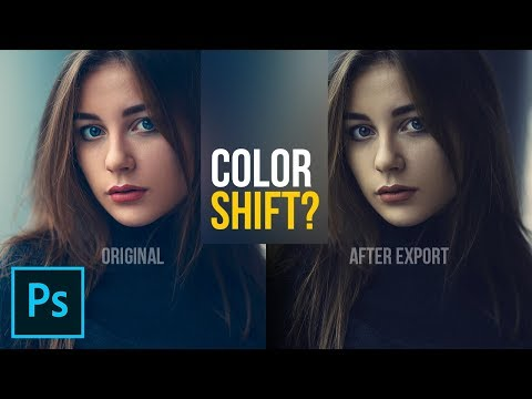Does Your Color Change After Export In Photoshop?