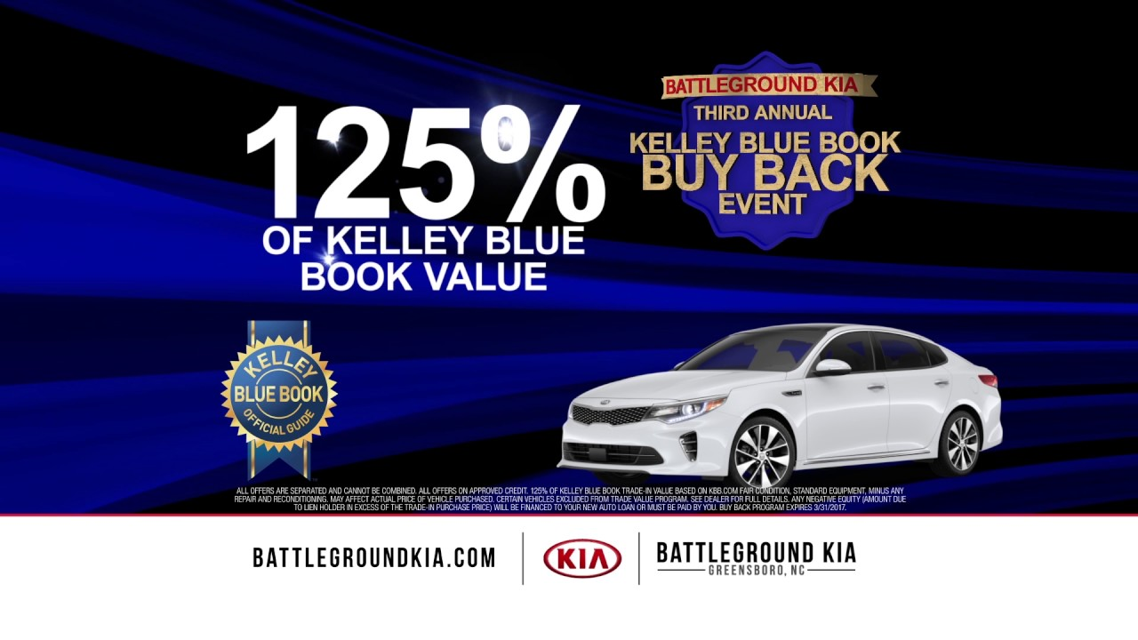 Kelley Blue Book Buy Back Event! - YouTube
