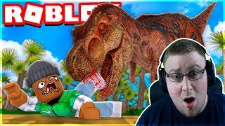WE RETURNED 68 MILLION YEARS BACK AND THEN THIS HAPPENED!! -Roblox Time Machine #3