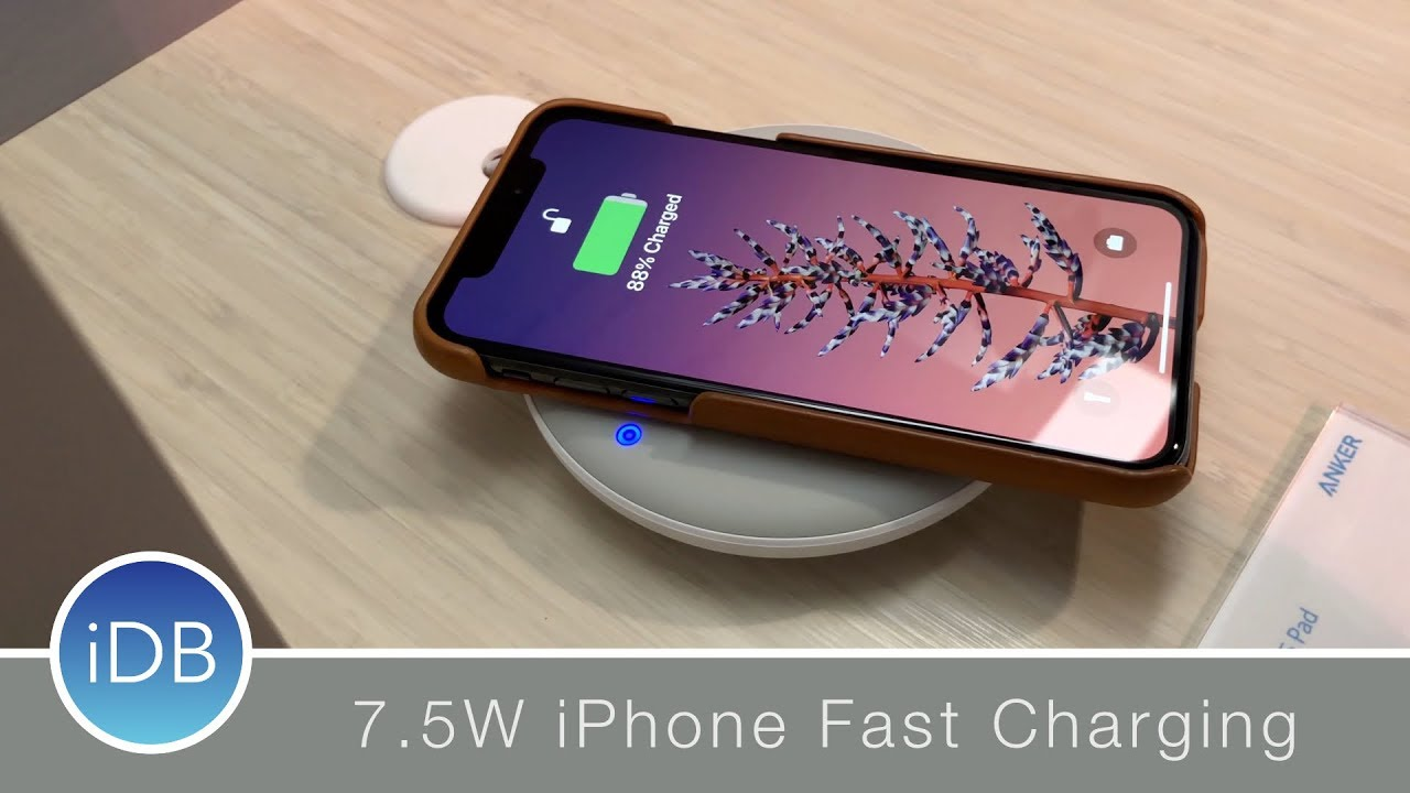 f6a7122aaf2 CES 2018: Anker's New Wireless Chargers Were Made for iPhone X - YouTube