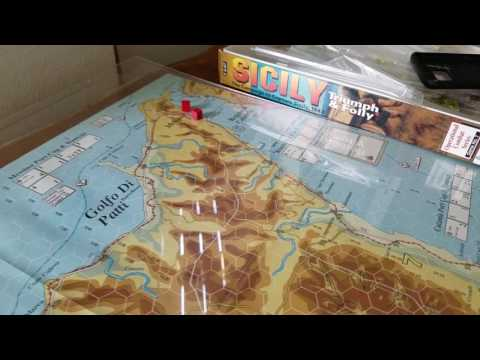 Sicily 01 Map overview and Pre game