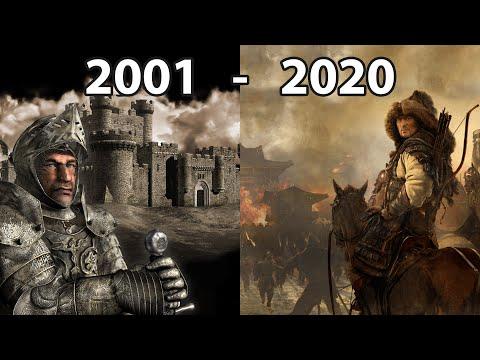 Evolution of Firefly Studios Games 2001 - 2020 |