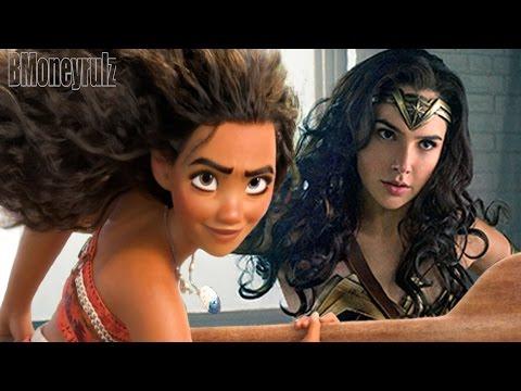 WONDER WOMAN: Moana Mash-Up Trailer Parody