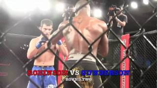 "Dominque ""Fallen Angel"" Robinson vs John Gunderson TPF 8 Full Fight Video Part 2"