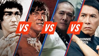 Bruce Lee vs. Jackie Chan vs Jet Li vs. Donnie Yen   Rotten Tomatoes