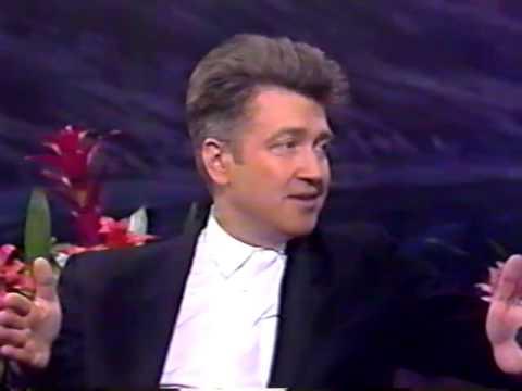 David Lynch on Jay Leno - 1992