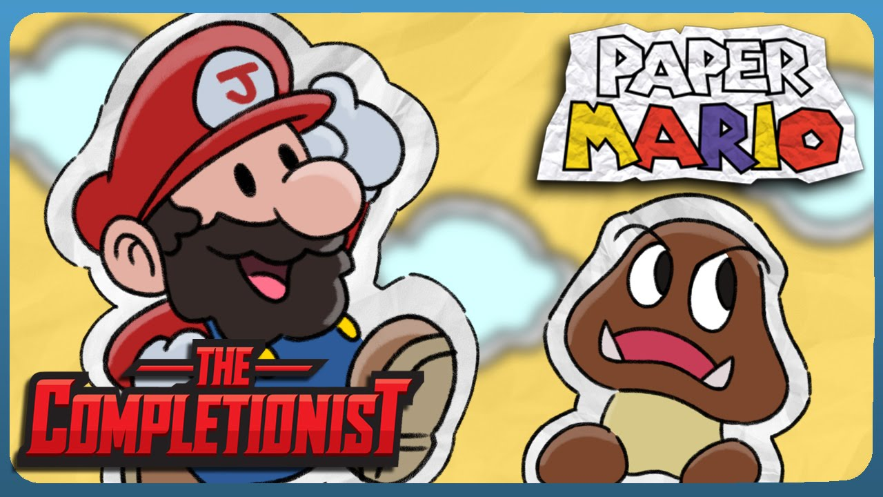 paper mario the completionist youtube