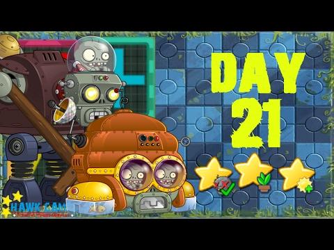Plants vs. Zombies 2 China - Far Future Day 21《植物大战僵尸2》- 未来世界 21天 - 동영상