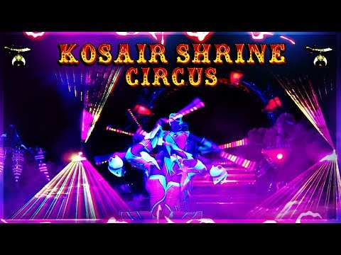 LIGHT SHOW | Kosair Shrine Circus 2019 Part 4 | Louisville KY
