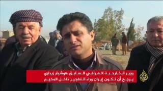 مقتل ستة في تفجيرين بمخيم للاجئين الإيرانيين قرب أربيل