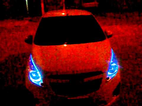 Chevrolet Spark Gt By Pablo Leds Capot Youtube